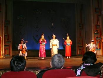 モンゴル伝統民族舞踊コンサート
