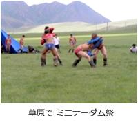 草原で ミニナーダム祭